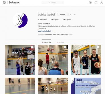 Volg B.O.B. op Instagram